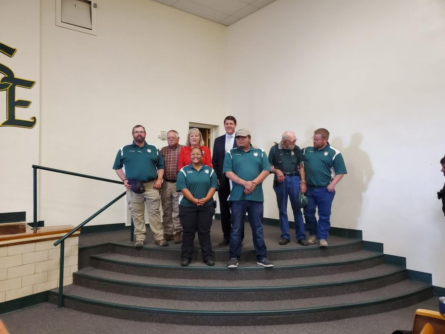 Congressman Arrington with Earth Community First Responders