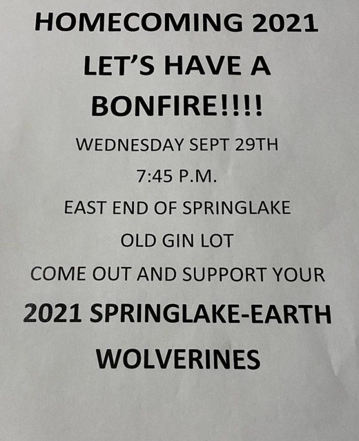 Bonfire Information