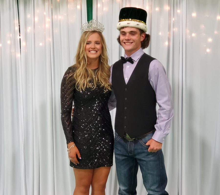 SEHS 2021 Homecoming King and Queen!